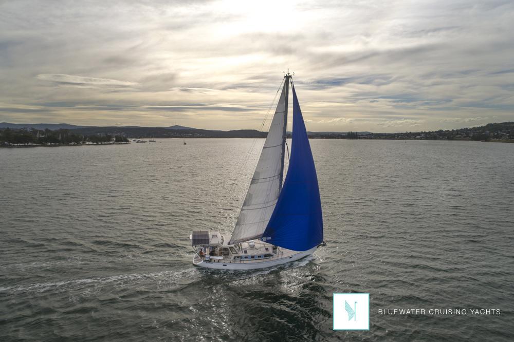 The Bluewater 420 Raised Saloon Cruising Yacht